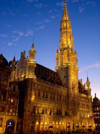 Brussels Town Hall or Hotel de Ville