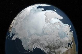 NASA image of the Arctic