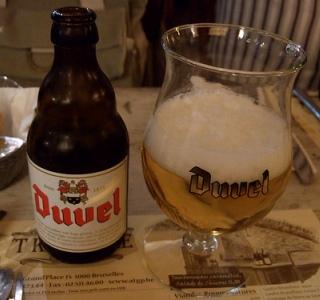 The famed Belgian beer