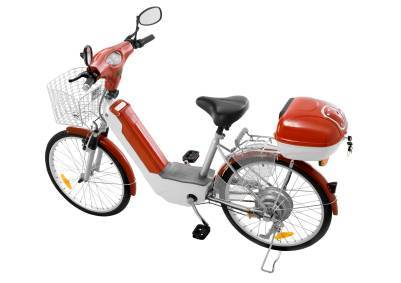 A typical Chinese e-bike