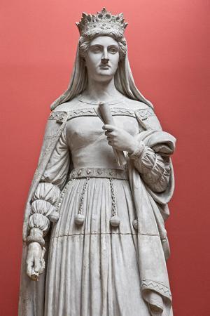 A statue of Queen Margarethe