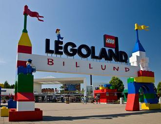 Children can lose themselves in the magic of Legoland in Billund
