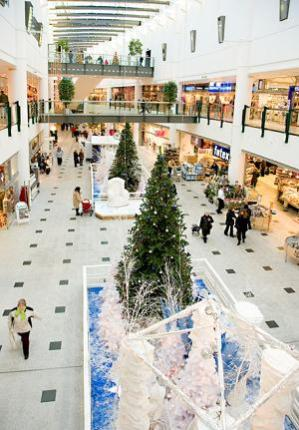 One of the many popular shopping centres in Denmark