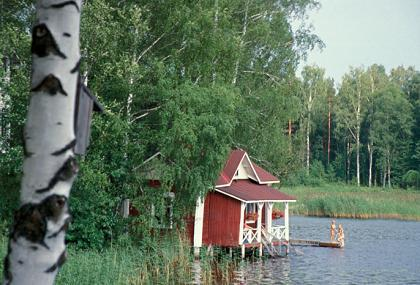 Finns have a penchant for country life