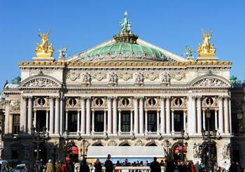The Paris Opera embodies the Neo-Baroque style