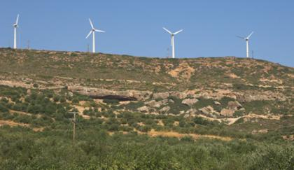 Greek windfarms