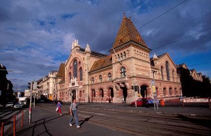 Budapest Central Market Hall