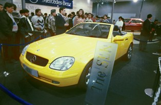 An auto exposition in India