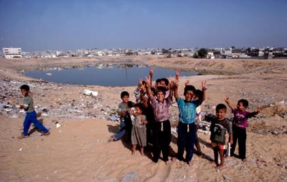 Majority of Palestinians are thought to be living in poverty