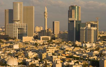 The city of Tel Aviv is the pulsating center of Israel