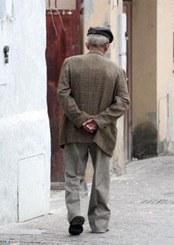 Italy's aging population