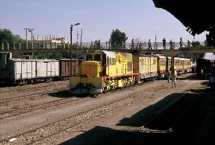 International train at Amman