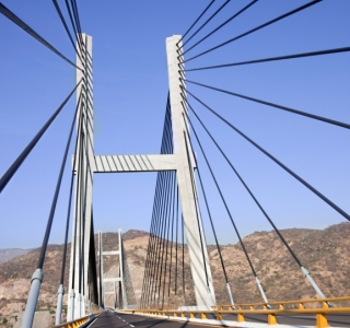 Mexico Cable Bridge