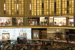 A mall in the Middle East