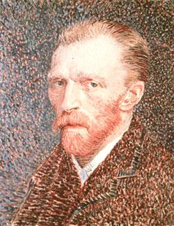 Vincent van Gogh, a renowned Dutch painter