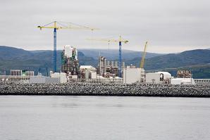 Natural gas project in Norway