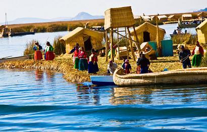Floating island, Peru
