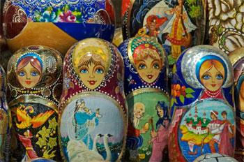 The Matryoshka , or nested doll