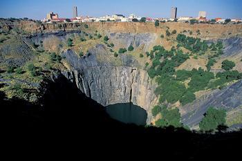 Kimberly Big Hole diamond mine