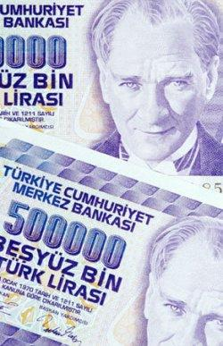 Turkish currency bearing the image of Mustafa Kemal