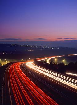 Expressway near Devon