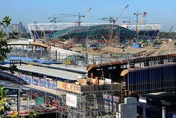 Construction projects for 2012 London Olympics