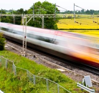 U.K.: High-speed rail
