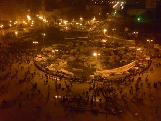 Tahrir Square in Cairo, a symbol of Egypt's revolution