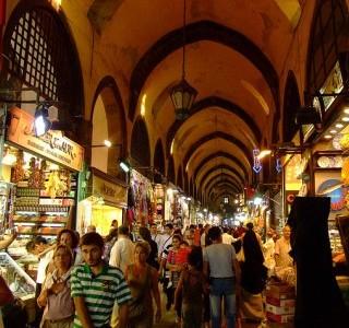 The Khan el-Khalili bazaar