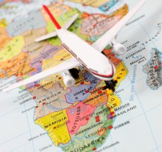 Flying in Africa